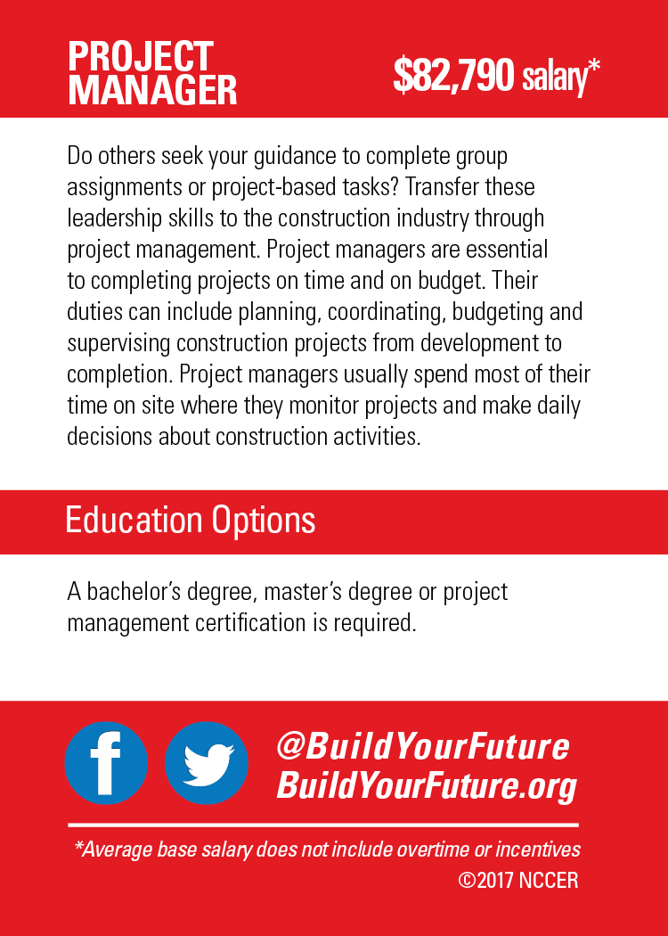 Project Manager Byf Build Your Future