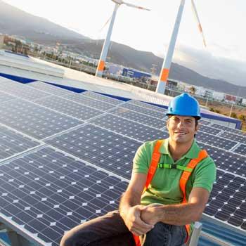 Solar photovoltaic installer