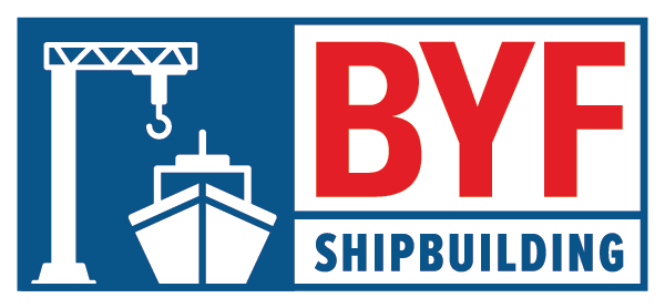Build Your Future Shipbuilding Logo