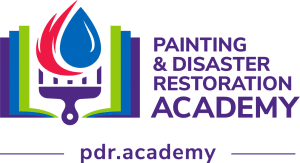 painting and disaster restoration academy logo